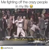 BACK AWAY PEASANTS  Like our page for MORE funny videos!! => OwnagePranks: Me fighting off the crazy people  in my life  S coming to:  Sach ARena CA Dec  own age Pranks.com BACK AWAY PEASANTS  Like our page for MORE funny videos!! => OwnagePranks
