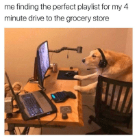 Memes, Drive, and 🤖: me finding the perfect playlist for my 4  minute drive to the grocery store Making sure SICKO MODE plays at least once