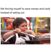 Who can relate? 😩😂💯 https://t.co/vYlMNrf02L: Me forcing myself to save money and cook  instead of eating out  #MasterChef'·x  GIF Who can relate? 😩😂💯 https://t.co/vYlMNrf02L