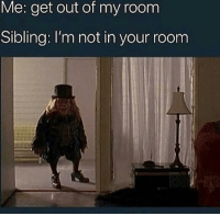 """Memes, Http, and Via: Me: get out of my room  Sibling: I'm not in your room <p>well technically.. via /r/memes <a href=""""http://ift.tt/2E2jn4n"""">http://ift.tt/2E2jn4n</a></p>"""