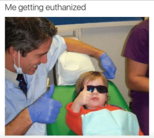 Getting, Getting Euthanized, and Me Getting Euthanized: Me getting euthanized Euthanized