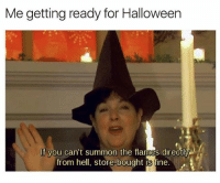 🎃🦇🔥 (twitter | southernhomo): Me getting ready for Halloween  If you can't summon the flames directly  from hell, store bought is fine. 🎃🦇🔥 (twitter | southernhomo)