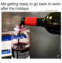 Memes, Wshh, and Work: Me getting ready to go back to work  after the holidays  @thebasicbithlife  al Call Rotes Who can relate? 😩🙋♂️💯 WSHH