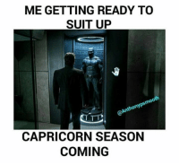 What are you planning for your birthday? What a miss if you haven't visited our exclusive Capricorn store here 👉 https://zodiacthing.com/store/capricorn: ME GETTING READY TO  SUIT UP  oo  @Anthonypsm  CAPRICORN SEASON  COMING What are you planning for your birthday? What a miss if you haven't visited our exclusive Capricorn store here 👉 https://zodiacthing.com/store/capricorn