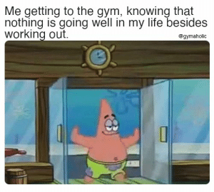 Me getting to the gym, knowing that nothing is going well in my life besides working out.  Gymaholic App: https://www.gymaholic.co  #fitness #motivation #workout #meme #gymaholic #gym: Me getting to the gym, knowing that nothing is going well in my life besides working out.  Gymaholic App: https://www.gymaholic.co  #fitness #motivation #workout #meme #gymaholic #gym