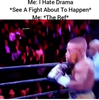 Funny, Hood, and Fight: Me: Hate Drama  *See A Fight About To Happen*  #hood clips I swear this is me 🤣😂😂