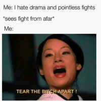 Lmaoo 😊😊😊😂😂😂 🔥 Follow Us 👉 @latinoswithattitude 🔥 latinosbelike latinasbelike latinoproblems mexicansbelike mexican mexicanproblems hispanicsbelike hispanic hispanicproblems latina latinas latino latinos hispanicsbelike: Me: I hate drama and pointless fights  *sees fight from afar*  Me:  TEAR THE B  PART Lmaoo 😊😊😊😂😂😂 🔥 Follow Us 👉 @latinoswithattitude 🔥 latinosbelike latinasbelike latinoproblems mexicansbelike mexican mexicanproblems hispanicsbelike hispanic hispanicproblems latina latinas latino latinos hispanicsbelike