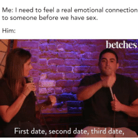 We had sex on the third date now what
