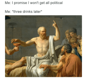 Why you stop getting invited to parties http://ift.tt/2kCDjEh: Me: I promise I won't get all political  Me: *three drinks later* Why you stop getting invited to parties http://ift.tt/2kCDjEh