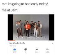 Sex going early