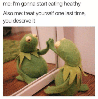 Ctfu, Foh, and Memes: me: I'm gonna start eating healthy  Also me: treat yourself one last time,  you deserve it 😫😂😂 For Hot 🔥Memes Fo👣ow... @just2vicious @just2vicious @just2vicious Follow our biggest supporter @farrahgray_ FOLLOW our Team Page 👉 @quotekillahs👈... Fo👣ow the 👇🏽👇🏽Squad @terryderon 💑 @ogboombostic 👑 @boutmyblessings 😇 @tales4dahood 💀 @just2vicious 💁🏽___ just2vicious quotekillahs love toofunny funnymemes pettyshit pettyaf petty dead funnyshit funnyaf imdead bruh realtalk lol facts savage nolie hilarious whodidthis nochill ctfu foh welp funnyasfuck whatthefuck pettypost imweak lmao kmsl