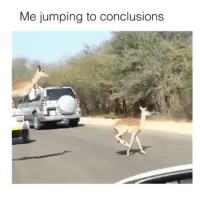 Accurate, Jumping, and Jumping to Conclusions: Me jumping to conclusions Accurate
