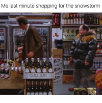 Wine > Pepsi for tomorrow costanzagrams: Me last minute shopping for the snowstorm  Costanza grams Wine > Pepsi for tomorrow costanzagrams