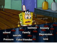 Fake, Family, and Love: Me  laziness Anxiety  school  Family  Depression  suicide  Pressure Fake friendes  love