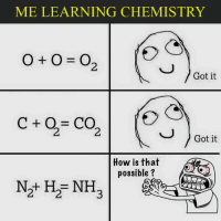 Chemistry Pidit !: ME LEARNING CHEMISTRY  Got it  Got it  How is that  possible  Nat H NH Chemistry Pidit !