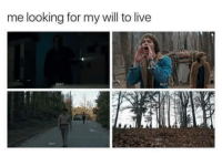 Obligatory Stranger Things post. - The Corinthian: me looking for my will to live Obligatory Stranger Things post. - The Corinthian