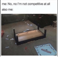 Be Like, All, and Like: me: No, no I'm not competitive at all  also me: It be like that 😂 https://t.co/nKqZFr9oQ0