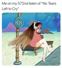 "Twitter, Grindr, and Cry: Me on my 572nd listen of ""No Tears  Left to Cry"" I'm lovin' I'm livin' I'm picking it up (twitter 