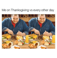 I'm not putting on a show. THIS IS WHAT I DO.: Me on Thanksgiving vs every other day I'm not putting on a show. THIS IS WHAT I DO.