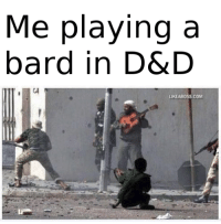 I actually do play a bard.: Me playing a  bard in D&D  UKEABOSS COM I actually do play a bard.