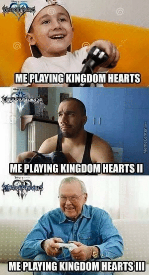 Kingdom Hearts players through the years: ME PLAYING KINGDOM HEARTS  du  ME PLAYING KINGDOM HEARTSII  ME PLAYING KINGDOM HEARTSII Kingdom Hearts players through the years