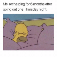 Girl Memes, One, and All: Me, recharging for 6 months after  going out one Thursday night. See you all in 2020