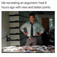 Memes, 🤖, and New: Me recreating an argument I had 6  hours ago with new and better points Me