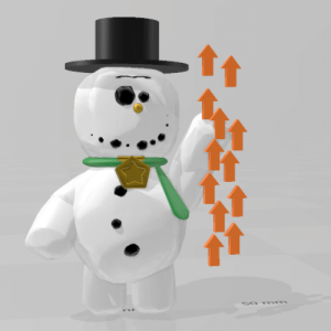 Me: remodels knick-knack, that snowman from that one Disney short Him after I show him to reddit:: Me: remodels knick-knack, that snowman from that one Disney short Him after I show him to reddit: