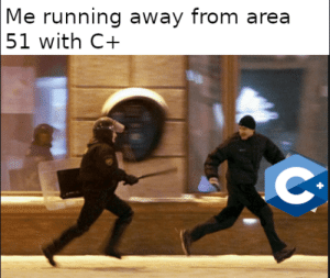 Running, Been, and Area 51: |Me running away from area  51 with C+  C that's where they have been hiding C+