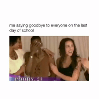 Hope everyone having a good day 💌 (credit: frihoele via Twitter) – Follow @bitchy.tweets for more 😹✨💜: me saying goodbye to everyone on the last  day of school  ebony. Hope everyone having a good day 💌 (credit: frihoele via Twitter) – Follow @bitchy.tweets for more 😹✨💜