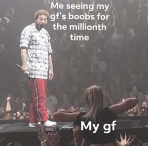 Meme, Boobs, and Time: Me seeing my  gf's boobs for  the millionth  time  My gf Hurry and Invest now! Before you know it, this meme's fame will *flash* before your eyes! via /r/MemeEconomy https://ift.tt/2olSQMn