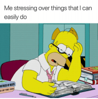 Stress, Can, and You: Me stressing over things that l can  easily do  De  STRESS OF DEAT  S OF THE 1900s YOU CAN DO THIS 💪