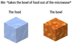 Should I buy this meme? via /r/MemeEconomy https://ift.tt/2EOsKqg: Me: *takes the bowl of food out of the microwave*  The food  The bowl Should I buy this meme? via /r/MemeEconomy https://ift.tt/2EOsKqg