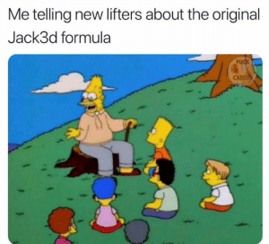 Fuck, Via, and The Original: Me telling new lifters about the original  Jack3d formula  FU  CARDI The OG formula hit different  Via @fuck_cardio