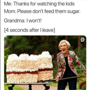 24 lol pics life - Thug Life Meme: Me: Thanks for watching the kids  Mom.Please don't feed them sugar.  Grandma: I won't!  [4 seconds after I leave]  THE DAD 24 lol pics life - Thug Life Meme