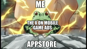 Yare yare daze: ME  THE XON MOBILE  GAME ADS  APPSTORE Yare yare daze