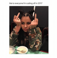 Girl, Relatable, and Only One: Me to everyone I'm cutting off in 2017 Only one more month 🖕🏼 Who relates? Follow me @teengirlclub for more relatable posts 💞 @teengirlclub