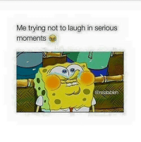 Memes, 🤖, and Trying Not to Laugh: Me trying not to laugh in serious  moments  @relatableh
