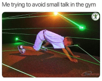 Gym, Fuck, and Headphones: Me trying to avoid small talk in the gym Forgot my damn headphones 😑 Via @fuck_cardio