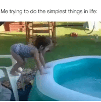Funny, Life, and  Things: Me trying to do the simplest things in life: Not going as planned 😂😂