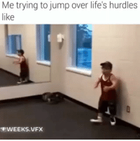 "Funny, Life, and Email: Me trying to jump over life's hurdles  like  ""WEEKS VFX 😂😂😂😂 Life got me like... life hurdles funniest15seconds Created by @weeks.vfx Email: funniest15seconds@yahoo.com Youtube: funniest15seconds Website: www.viralcontrol.co"
