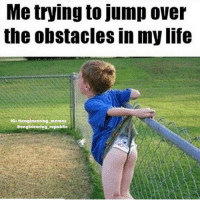 Some obstacles can't be jumped... Ouch❗️ wedgie obstacles jumbover mylife engineering_memes engineers engineerproblems engineeringlife: Me trying to jump over  the obstacles in my life  IG: eengineering memes  @engineering republic Some obstacles can't be jumped... Ouch❗️ wedgie obstacles jumbover mylife engineering_memes engineers engineerproblems engineeringlife