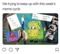 Blackpeopletwitter, Love, and Meme: Me trying to keep up with this week's  meme cycle  If you  don't love  then  deserve  me at n  you don't  me at my  my <p>Absolutely not me irl (via /r/BlackPeopleTwitter)</p>