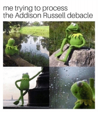 This doesn't end well for anyone. 😞: me trying to process  the Addison Russell debacle This doesn't end well for anyone. 😞