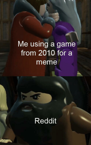 Invest in Lego Harry Potter memes now!: Me using a game  from 2010 for a  meme  Reddit Invest in Lego Harry Potter memes now!