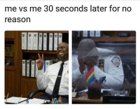 "Tumblr, Blog, and Reason: me vs me 30 seconds later for no  reason <p><a href=""https://anxietyproblem.tumblr.com/post/175308920161/follow-us-anxietyproblem"" class=""tumblr_blog"">anxietyproblem</a>:</p><blockquote><p>Follow us <b><a href=""https://anxietyproblem.tumblr.com/"">@anxietyproblem​</a></b><br/></p></blockquote>"