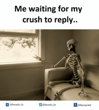 Waiting...: Me waiting for my  crush to reply.  @sarcastic-Us  If @Sarcasmlol  @Sarcastic Us