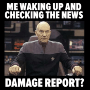 ME WAKING UP AND CHECKING THE NEWS DAMAGE REPORT? Money Report Listing for  'Money' Category 1115 | Money Meme on ME.ME