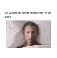Every. Damn. Day.: Me waking up and remembering Im still  single Every. Damn. Day.