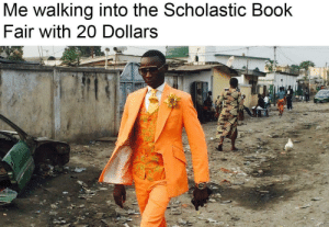 Minecraft Books: Me walking into the Scholastic Book  Fair with 20 Dollars Minecraft Books